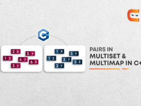 DIFFERENCE BETWEEN PAIRS IN MULTISET & MULTIMAP IN C++