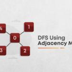 DFS using adjacency matrix