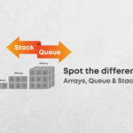 Difference between Array, Queue & Stack