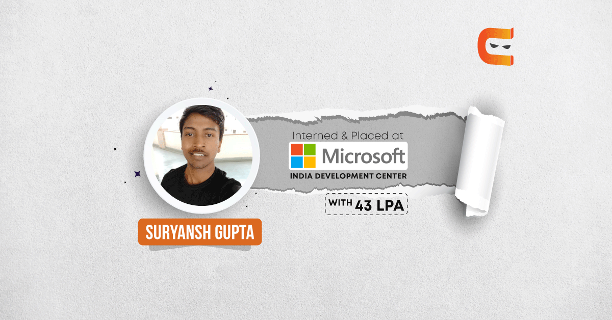Suryansh Gupta: A computer novice to a working with Microsoft IDC