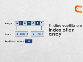 Equilibrium Index of an Array
