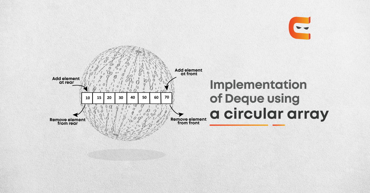 Implementation of Deque using a circular array