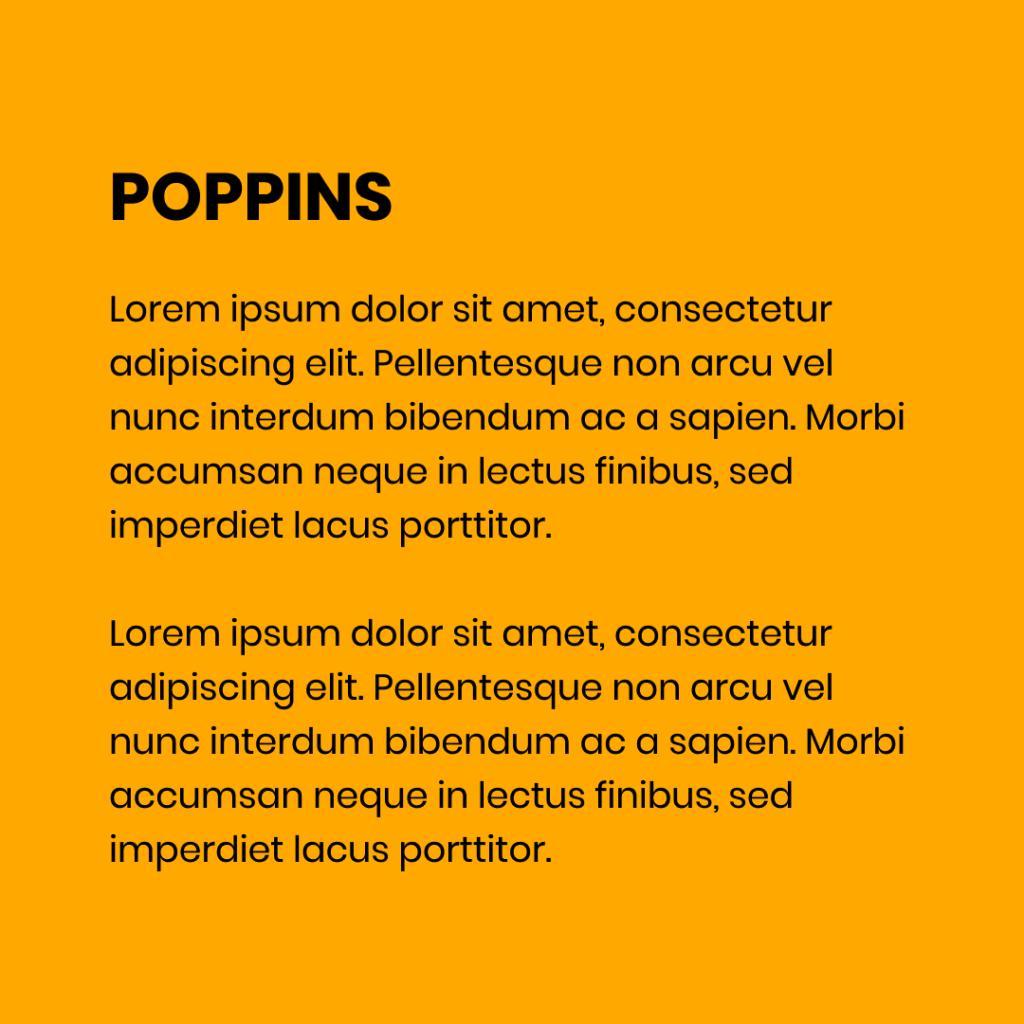 Figure 11 Font - Poppins