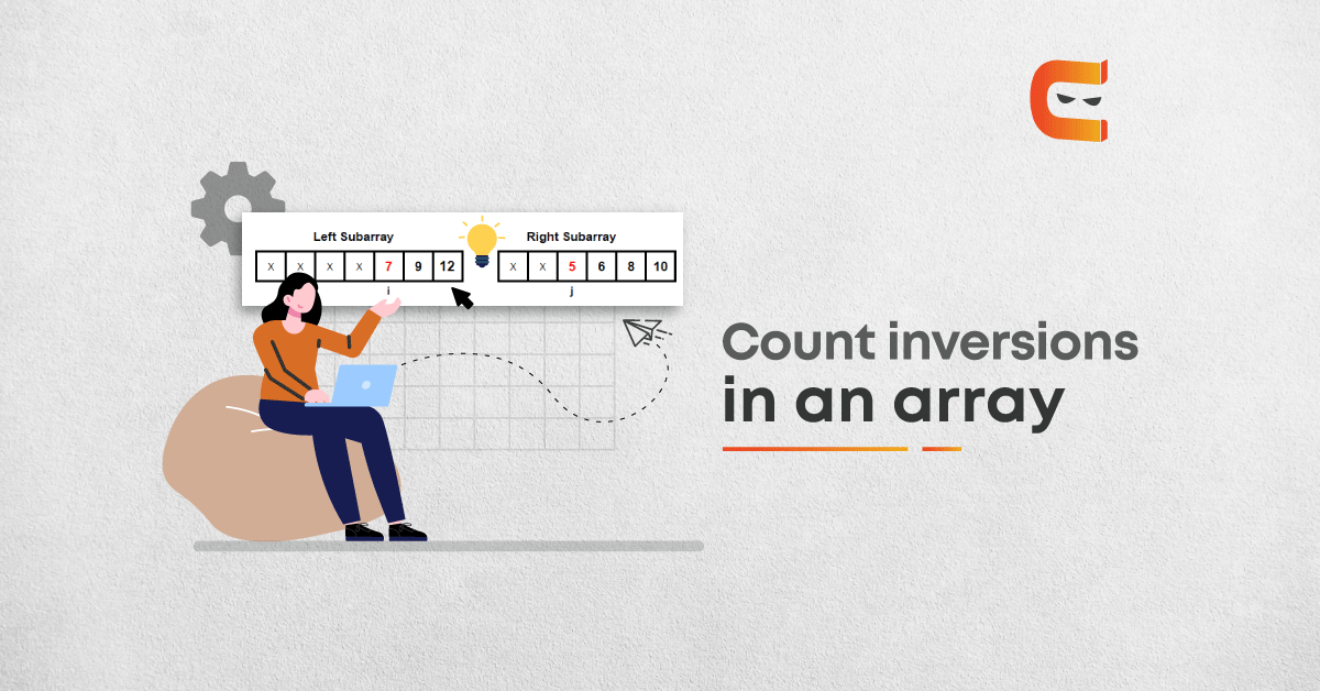 Count inversions in an Array