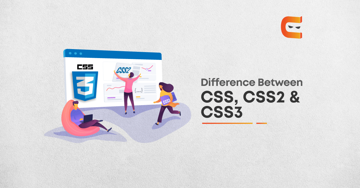 Difference between CSS, CSS2 & CSS3