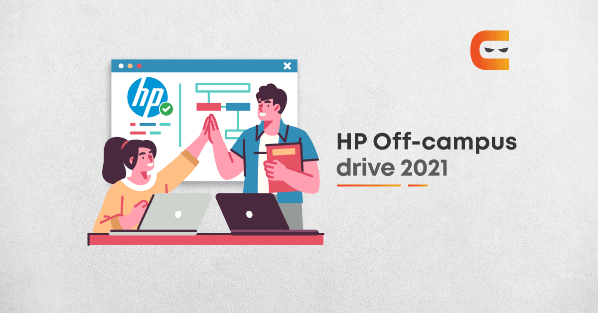 HP Off Campus 2021 Drive For Freshers (2021, 2020 Batch)