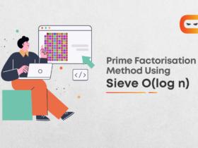Prime Factorisation Method Using Sieve O(log n) For Multiple Queries