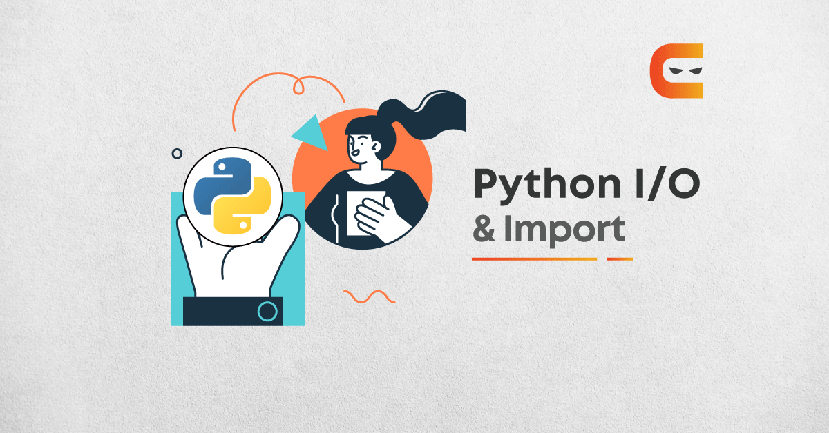 Input, Output(I/O) And Import In Python