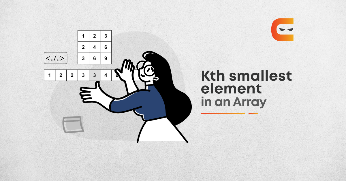 How To Find The Kth Smallest Element In An Array?