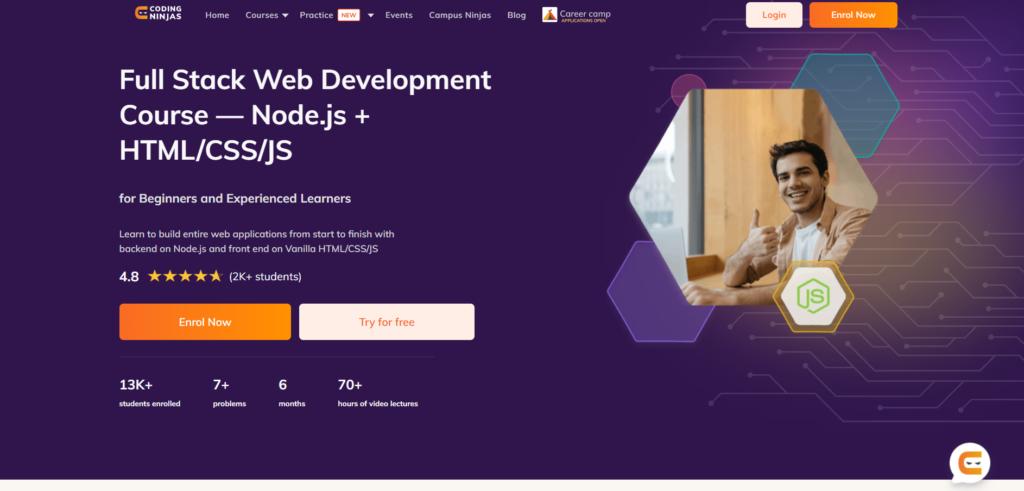 Coding_Ninjas_Full_Stack_development_course_Node.js+HTML/CSS/JS