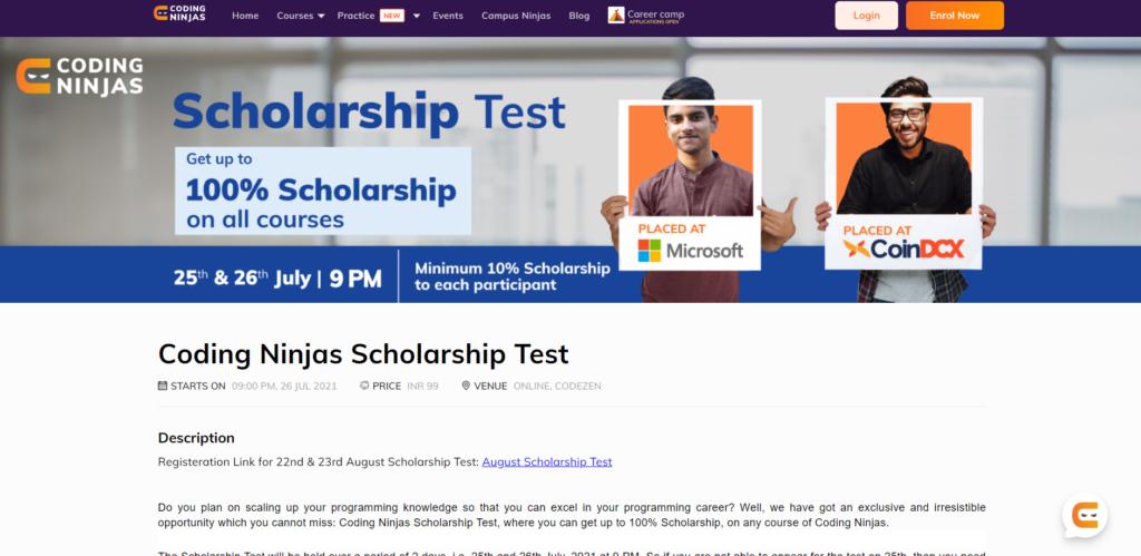 coding_ninjas_scholarship_test