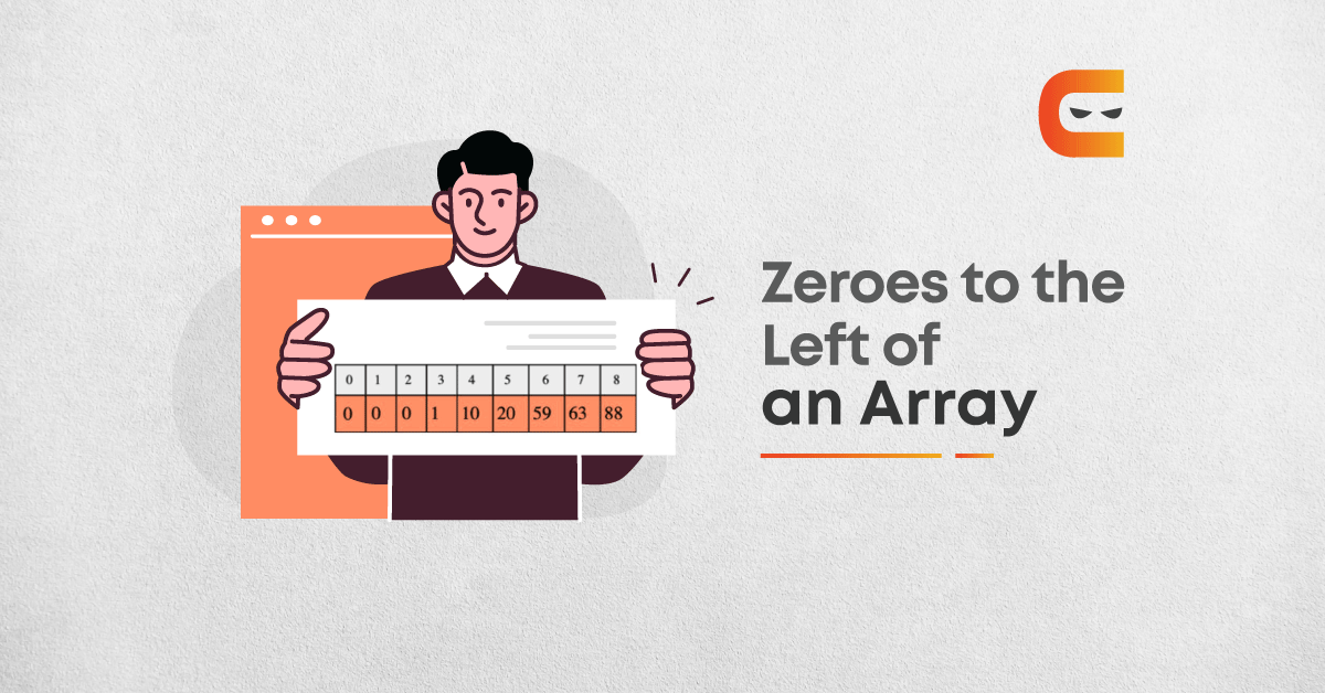 How do you move all the zeros to the left of the array?
