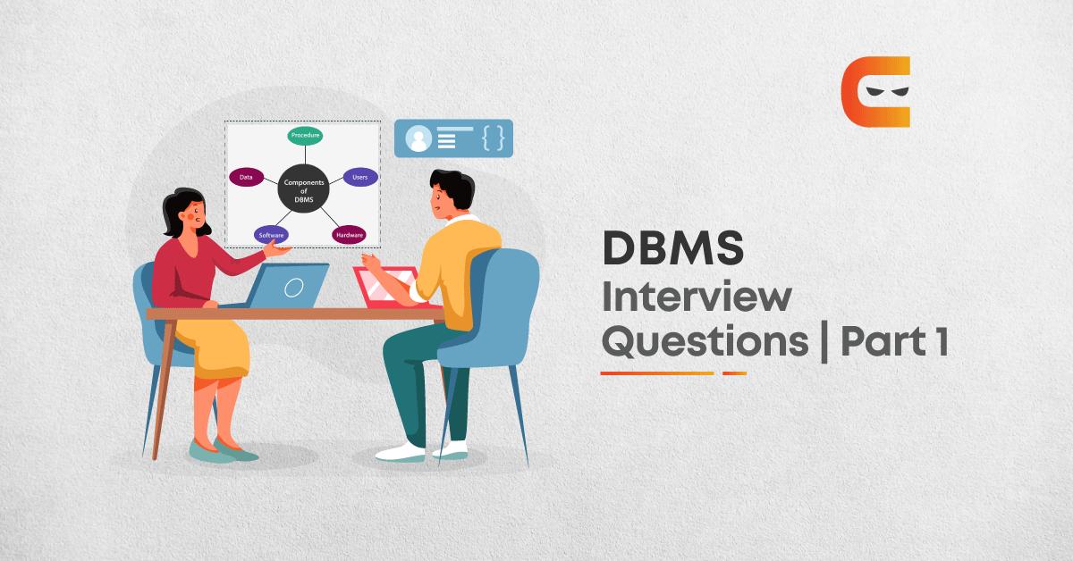 DBMS Interview Questions   Part 1