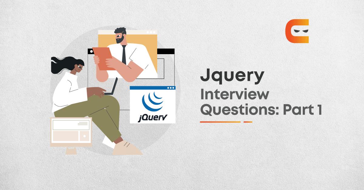 Jquery Interview Questions: Part 1