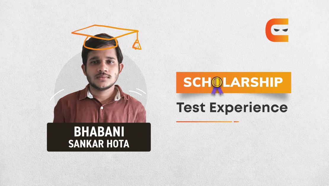 Coding Ninjas Scholarship Test Experience of Bhabani Sankar Hota